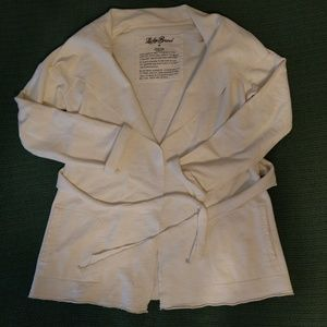100% cotton Lucky Brand Ivory jacket